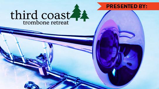 Third Coast Trombone Retreat, John Sebastian Vera, Nicholas Schwartz, faculty recital, trombone retreat, trombone