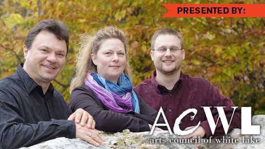 Thoreau Piano Trio, Arts Council of White Lake