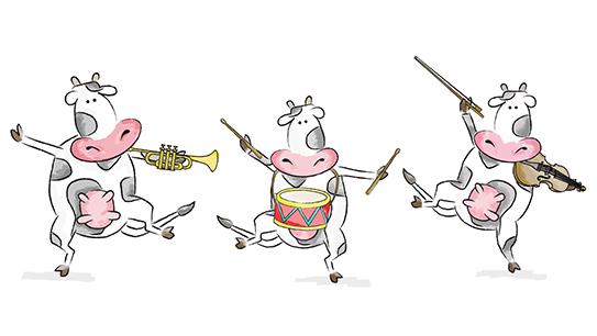 Click Clack Moosic, Dooby Dooby Moosic, Giggle Giggle Quackle, children's children program