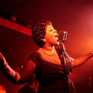 Karen Marie Richardson, Ella Fitzgerald, vocal