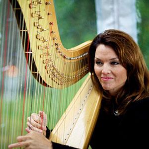 Sylvia Norris, french, harp, violin, flutist